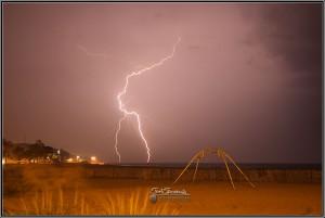Lightning in Muskegon