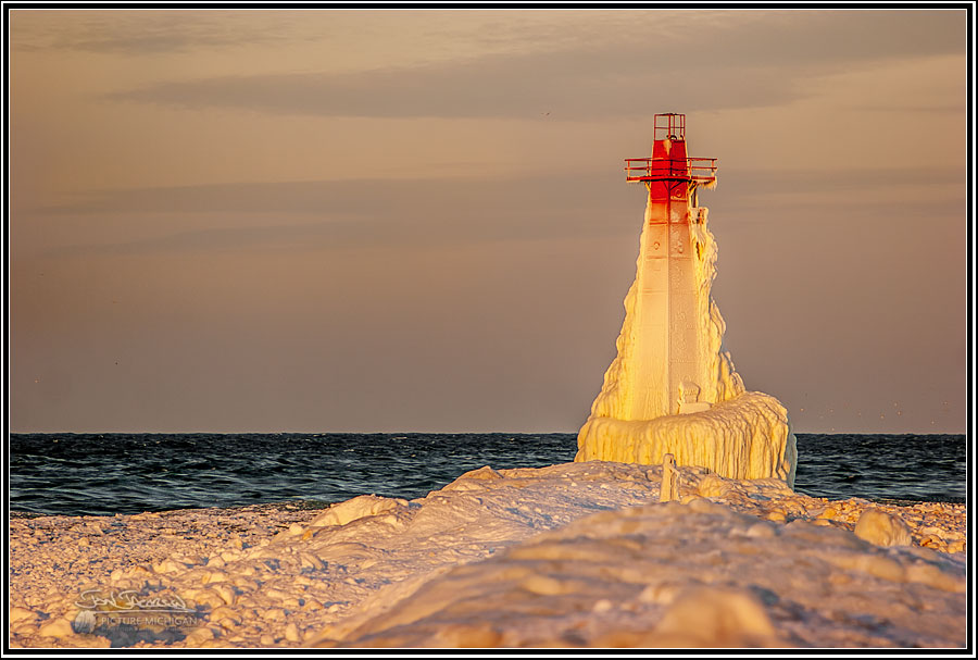 Ice Caves Lake Michigan Muskegon