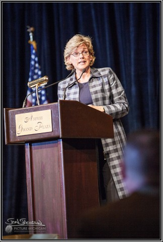 Govener Jennifer Granholm addresses MLTA Conference