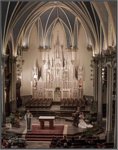 Wedding Photography Catherdral of Saint Andrews Grand Rapids