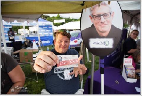 Brian Dumont of Smile FM Unity Music Festival
