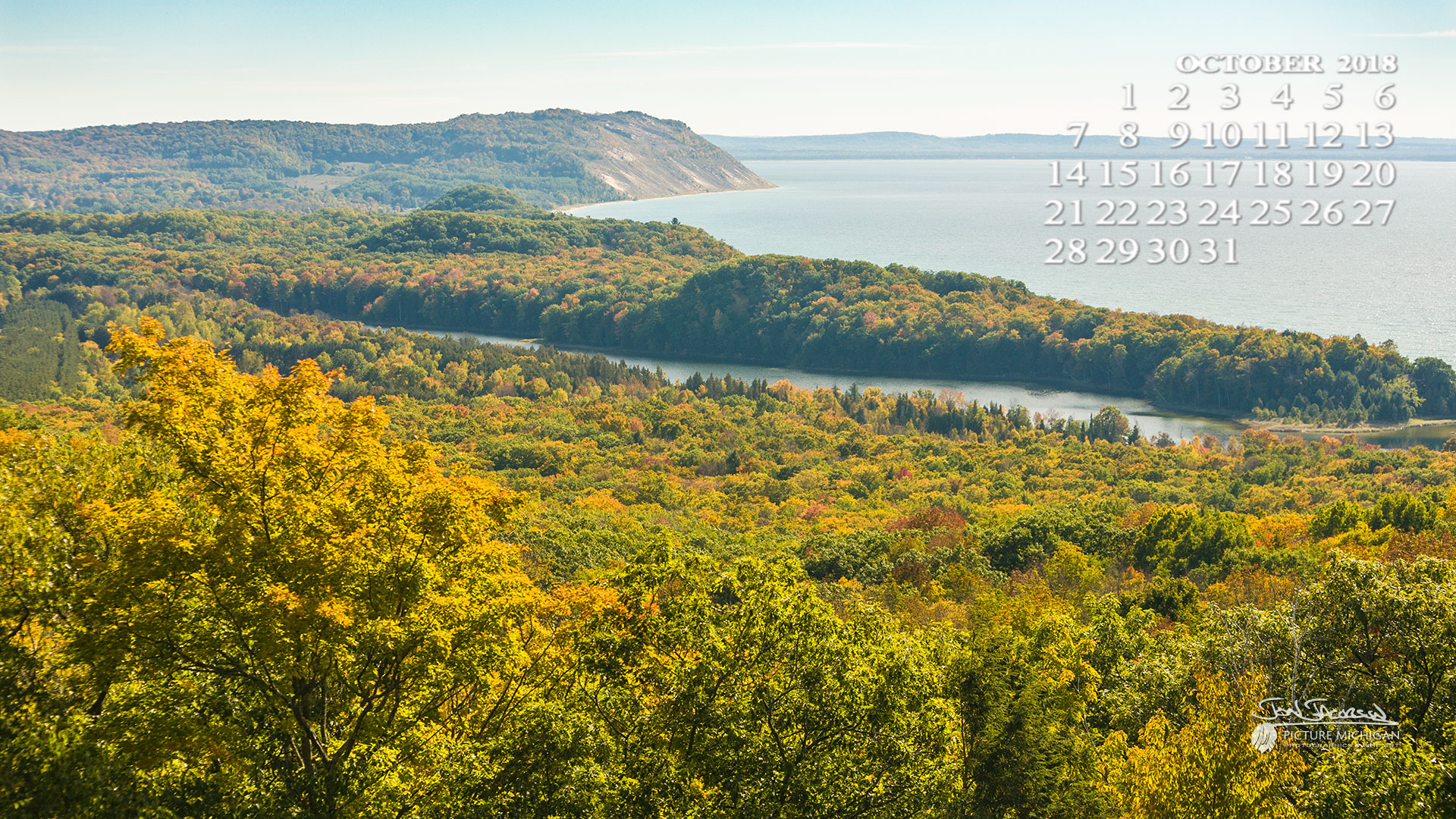 The View From Sleeping Bear Dunes