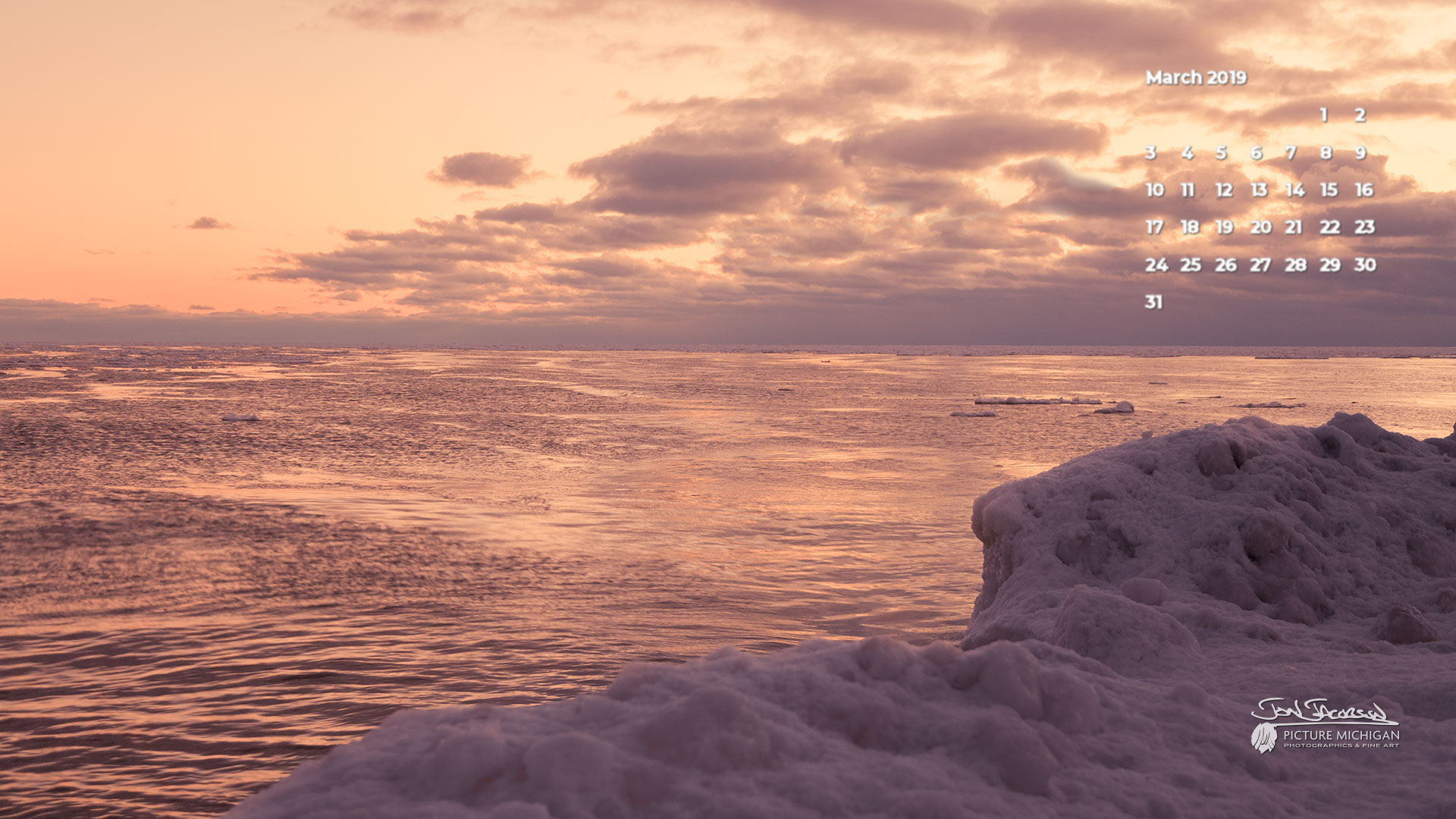Spring Thaw at the Beach