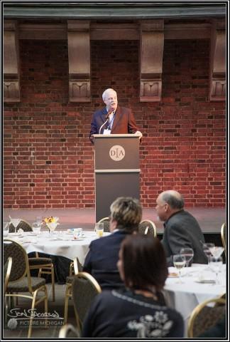 Don Zimmerman addresses tourism event