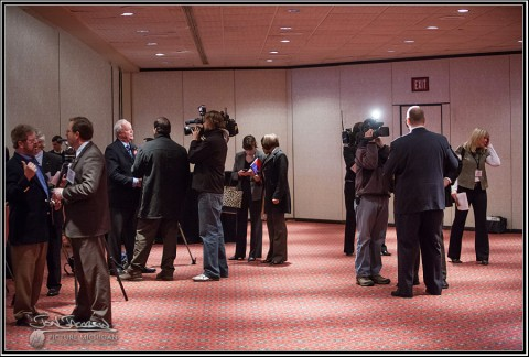 Media covering MLTA Conference