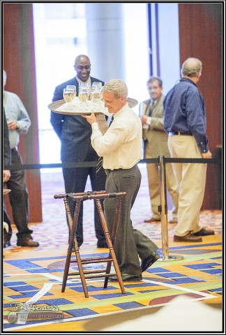 Rick Winn competes in MLTA Conference