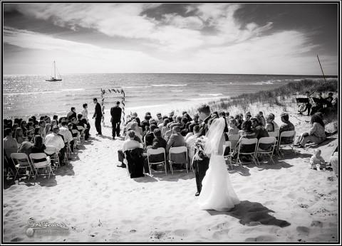 Muskegon Beach Wedding Photography