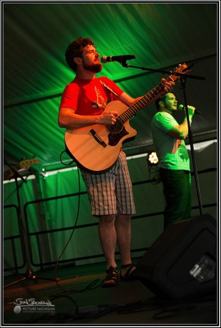 Micheal Maher Band at Unity Music Festival