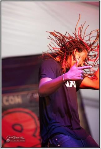 Mark Evens II at Unity Music Festival