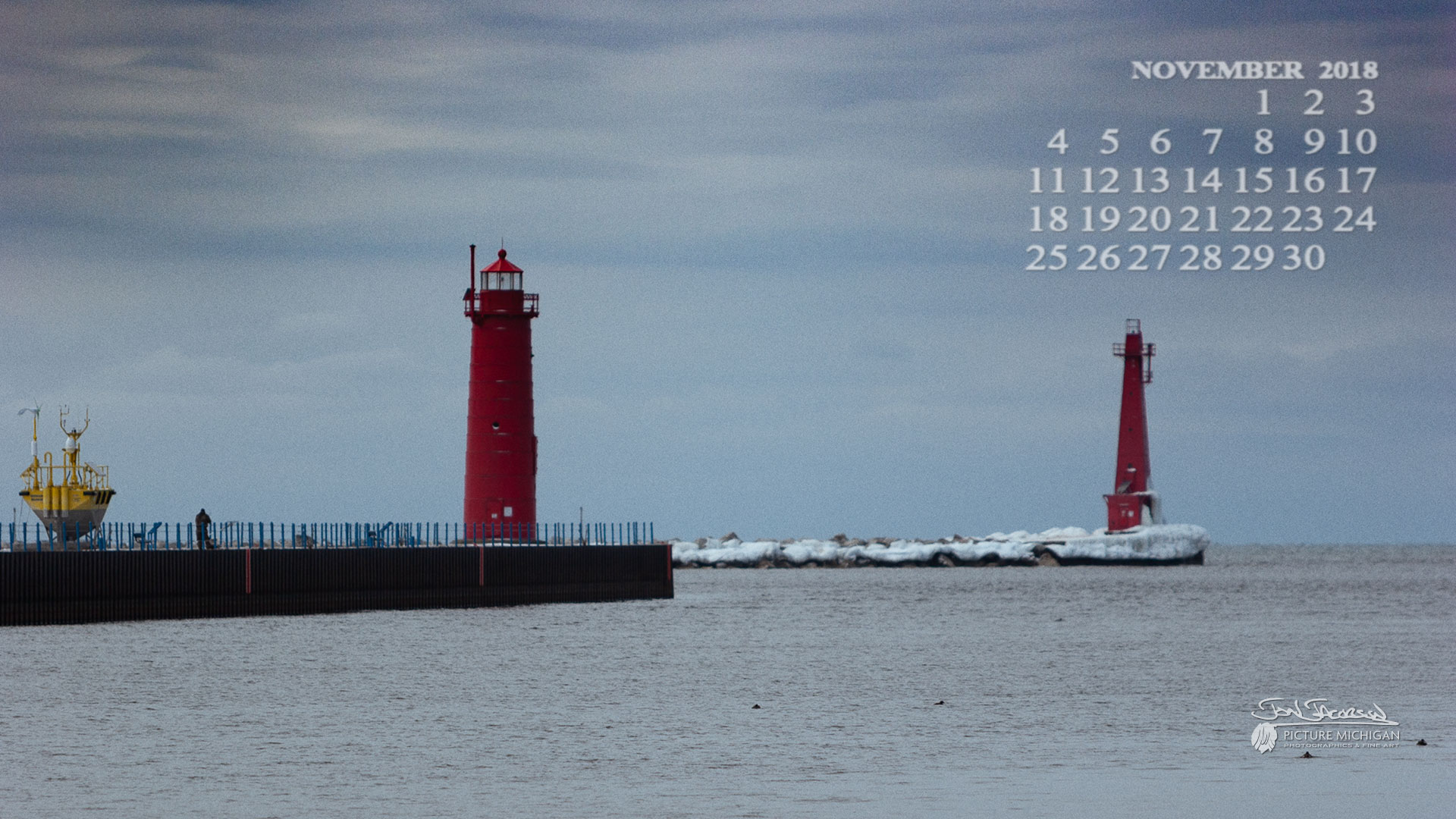Muskegon Channel Lights
